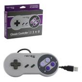 Retrolink Manette Pad Joystick Super Nintendo Snes Avec C�ble Usb Int�gr� Pour Ordinateur Pc Et Mac - R�tro Gaming
