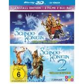Die Schneek�nigin 1 + 2 (Blu-Ray 3d, 2 Discs) de Various