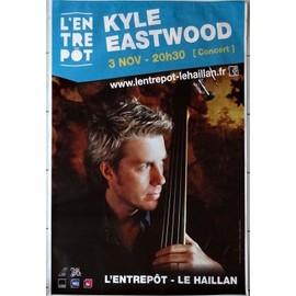 """Affiche Concert """"Kyle Eastwood"""" : Grand Format 175x120 Cm"""