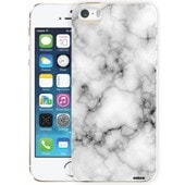 Coque Crystal Marbre Blanc Pour Apple Iphone 5/5s