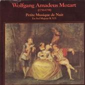 Petite Musique De Nuit En Sol Majeur K525 Pochette Ouvrante Avec Publicit� Cointreau - Mozart Grand Orchestre De Chambre De Toulouse Direction Louis Auriacombe