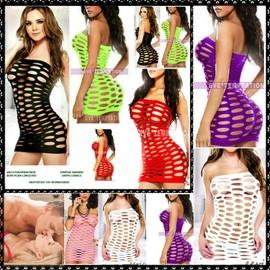 Sexy Mini Robe / Combinaison / Bodystocking / Bustier / Lingerie Coquine / Ensemble / Caraco / Tenue T 36/40 S/M/L