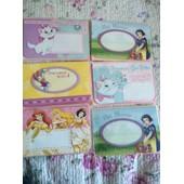 Carte De Voeux Pour Fille Collection Disney Neuf