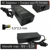 Chargeur G�n�rique Pour Pc Portable 19v - 6.3a - Embout 5.5*2.5 Mm Alimentation Ac Adaptateur