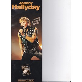 Johnny Hallyday accords guitare et claviers