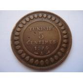 Tunisie 5 Centimes 1914 A
