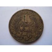 Tunisie 1 Franc 1921