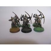 6 Archers De Minas Tirith Table Top Sda Lotr