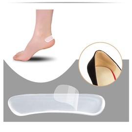 1 Paire De Protection Talon En Gel Silicone Extra Confort Chaussures Pieds Talon