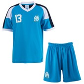 Maillot + Short Om - Collection Officielle Olympique De Marseille - Taille Enfant Gar�on