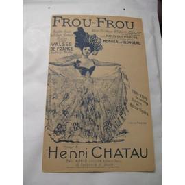 frou-frou valse chantée par melle juliette méally dans paris qui marche