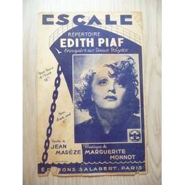 Escale Edith Piaf