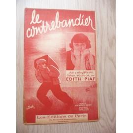 Le contrebandier Edith Piaf