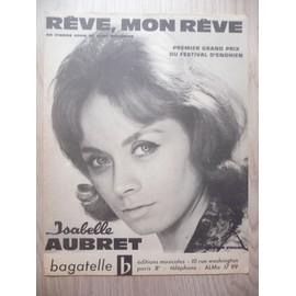 REVE, Mon RÊVE Isabelle Aubret
