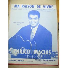 Ma raison de Vivre Charles trenet Enrico Macias