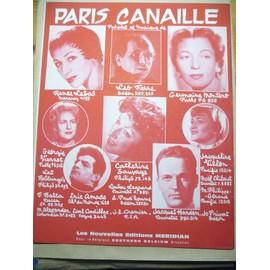 PARIS CANAILLE Léo Ferré