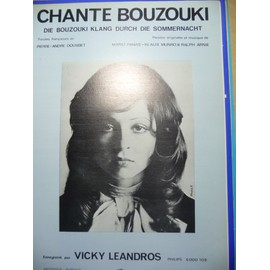 CHANTE BOUZOUKI  Vicky Leandros