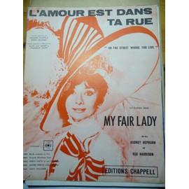 L'AMOUR EST DANS LA RUE Audrey Hepburn