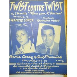 TWIST contre TWIST de l'opérette visa pour l'amour Annie Cordy