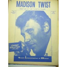 MADISON TWIST Johnny Hallyday