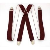 Bretelles �lastique Pantalon � Pinces Clip Ajustable Homme Fabriqu� En France