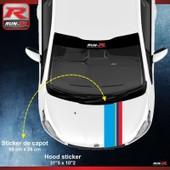 Stickers Capot Pour Peugeot Sport Pour 208 - 207