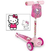 Trottinette Patinette 1er Age 3 Roues Hello Kitty