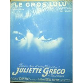 LE GROS LULU Juliette Gréco