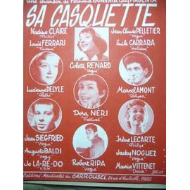 SA CASQUETTE colette Renard Marcel Amont Lucienne Delyle