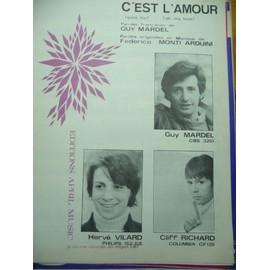 C'EST L'AMOUR Hervé Villard Guy Mardel Cliff richard