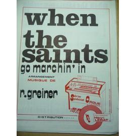 When the Saints go marchin' in  orgue électronique