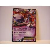 Carte Pokemon Francaise Mewtwo Ex 170pv 62/162 Impulsion Turbo