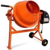 Vidaxl B�tonni�re �lectrique En Acier Orange 63 L 220 W