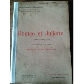 Ch. Gounod Roméo et Juliette Opéra en 5 actes Piano/Chant