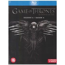 Image Game Of Thrones Le Trone De Fer Saison 4 (Blu Ray)