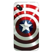 Coque Protection Telephone Wiko Sunset 2 - Bouclier Americain