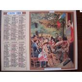 Calendrier Des Postes Oberthur 1989