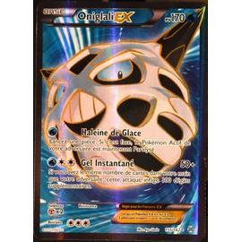 Carte Pok�mon 155/162 Oniglali Ex 170 Pv - Ultra Rare