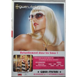 poster a4 gwen stefani