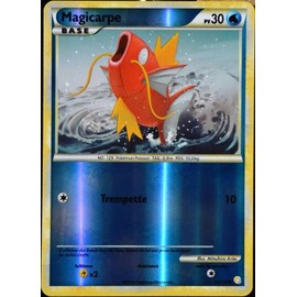 Carte Pok�mon 72/123 Magicarpe 30 Pv - Reverse Heartgold Soulsilver Neuf Fr