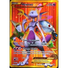 Carte Pok�mon 164/162 Mewtwo Ex 170 Pv - Secret Rare