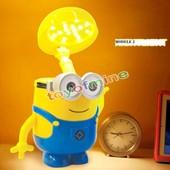 Lampe Veilleuse 3d Sans Fil Personnage Minions Moi Moche Et Mechant