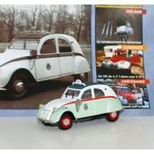 Norev 1/43 Citroen 2cv Azl 1957 Taxi Avec Boite Et Fascicule N11