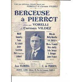 Berceuse à Pierrot par Vorelli et Carmen Vildez