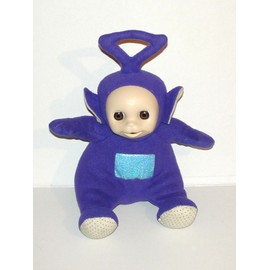 Teletubbies Tinky Winky Peluche Tinky Assis Parlante Yeux Dormeur Tomy Ragdoll