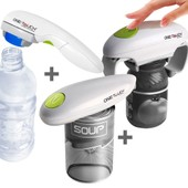 One Touch - One Touch Les Incontournables Lot Ouvre Bocal +Ouvre Bouteille+Ouvre Bo�te Automatiques