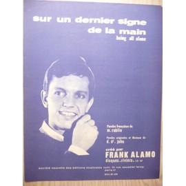 SUR UN DERNIER SIGNE DE LA MAIN Frank Alamo