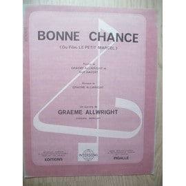 Bonne chance Graeme allwright