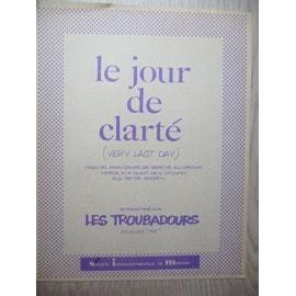 LE JOUR DE CLARTE lles troubadours Graeme allwright