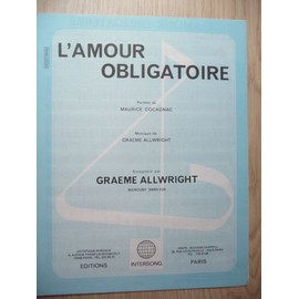 L'AMOUR OBLIGATOIRE Graeme Allwright